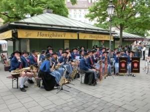 Blasmusik Viktualienmarkt