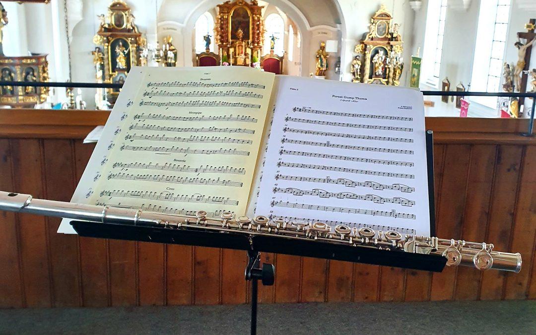 Flötenensemble gestaltet Gottesdienst