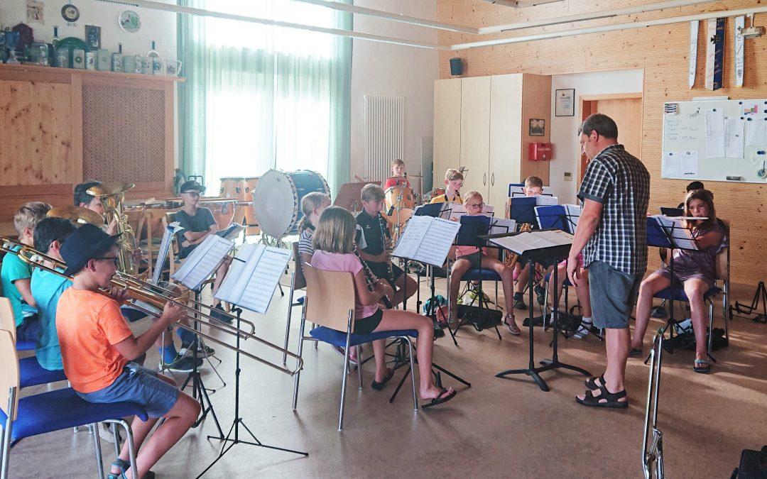 Nachwuchsmusiker eingezogen